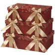 Jennifer Taylor La Rosa 3 Piece Rectangle Gift Box Set
