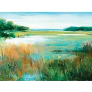 Portfolio Canvas 'Summer Color' by Elinor Luna Framed Painting Print on Wrapped Canvas