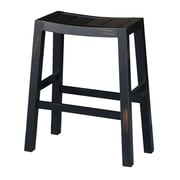 International Concepts Dining Essentials Ranch 30'' Bar Stool; Aged Black
