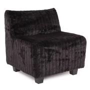 Howard Elliott Pod Side Chair; Mink Black