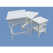 Spice Islands Regatta 3 Piece Nesting Table Set