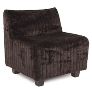 Howard Elliott Pod Side Chair; Mink Brown