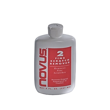 Azar Displays Plastic Polish Scratch Remover, 8 Oz.