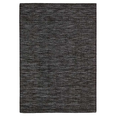 Nourison Waverly Grand Suite Charcoal Area Rug; 5' x 7'6''