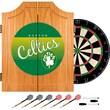 Trademark Global NBA NBA7000HC-BC Wood Dart Cabinet Set, Boston Celtics
