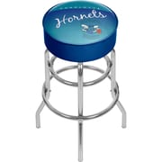 Trademark Global NBA Hardwood Classics NBA1000HC-CH Steel Padded Swivel Bar Stool, Charlotte Hornets