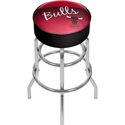 Trademark Global NBA Hardwood Classics NBA1000HC-CB Steel Padded Swivel Bar Stool, Chicago Bulls