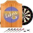 Trademark Global NBA NBA7000HC-LAL Wood Dart Cabinet Set, Los Angeles Lakers