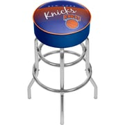 Trademark Global NBA Hardwood Classics NBA1000HC-NYK Steel Padded Swivel Bar Stool, New York Knicks