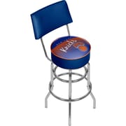 Trademark Global NBA Hardwood Classics NBA1100HC-NYK Steel Bar Stool with Back, New York Knicks