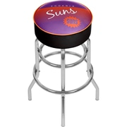 Trademark Global NBA Hardwood Classics NBA1000HC-PS Steel Padded Swivel Bar Stool, Phoenix Suns