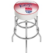 Trademark Global NBA Hardwood Classics NBA1000HC-SK Steel Padded Swivel Bar Stool, Sacramento Kings