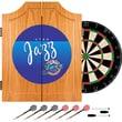 Trademark Global NBA NBA7000HC-UJ Wood Dart Cabinet Set, Utah Jazz