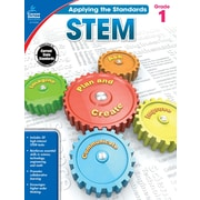 Carson-Dellosa Applying the Standards STEM Workbook for Grade 1