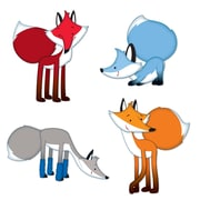 Carson-Dellosa Playful Foxes Cut-Outs, 45/Pack