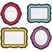 Carson-Dellosa Colorful Chalkboard Cut-Outs, 36/Pack