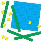 Carson-Dellosa Base Ten Blocks Manipulative, 12/Set