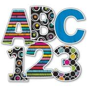 Carson-Dellosa Colorful Chalkboard EZ Letters, 76/Pack