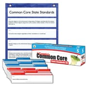 Carson-Dellosa Complete Common Core State Standards Pocket Chart, Grade 5