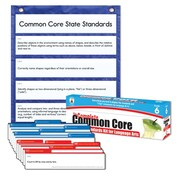 Carson-Dellosa Complete Common Core State Standards Pocket Chart and Language Arts Cards, Grade 6