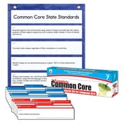 Carson-Dellosa Complete Common Core State Standards Pocket Chart and Language Arts Cards, Grade 7