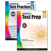 Spectrum Test Prep and Practice Classroom Kit for Grade 5