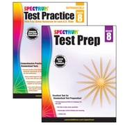 Spectrum Test Prep and Practice Classroom Kit for Grade 8