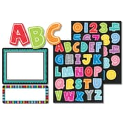 "Carson-Dellosa Colorful Chalkboard Label Stickers, 7.5""L x 4.75""W, 197/Pack"
