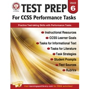 Mark Twain Test Prep for CCSS Performance Tasks Resource Book for Grade 6