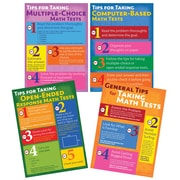 Mark Twain Media Math Testing Tips Bulletin Board Set, 4 Boards/Set