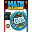 Brighter Child Math in a Minute Workbook for Grade 1
