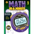Brighter Child Math in a Minute Workbook for Grade 2