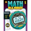 Brighter Child Math in a Minute Workbook for Grade 5