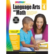 Spectrum Language Arts and Math Workbook for Grade 4