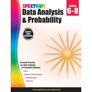 Spectrum Data Analysis and Probability Workbook