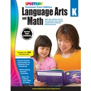 Spectrum Language Arts and Math Workbook for Grade K