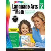 Spectrum Language Arts and Math Workbook for Grade 2