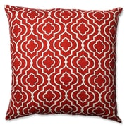 Pillow Perfect Donetta Cotton Floor Pillow; Red