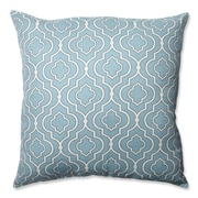 Pillow Perfect Donetta Cotton Floor Pillow; Aqua