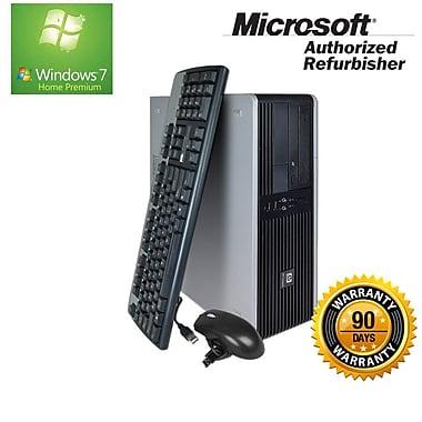 HP Compaq Refurbished Desktop (DC7800 SFF), Intel Core2 Duo, 4GB RAM, 320GB HDD, DVD-Burner, Win 7 Pro 64-bit, English