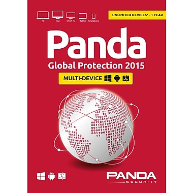Panda Global Protection 2015, Unlimited, 1-Year Subscription