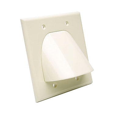 Digiwave Bulk Cable Pass Through Wall Plate, 0.1