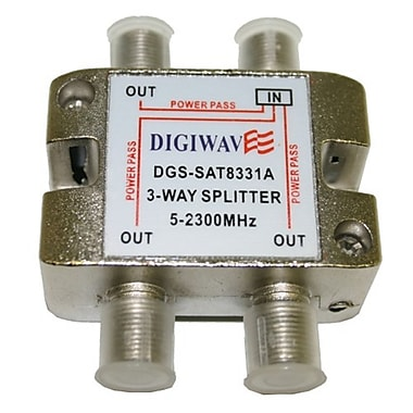 Digiwave 3 Way Splitter (5-2400Mhz), 0.8