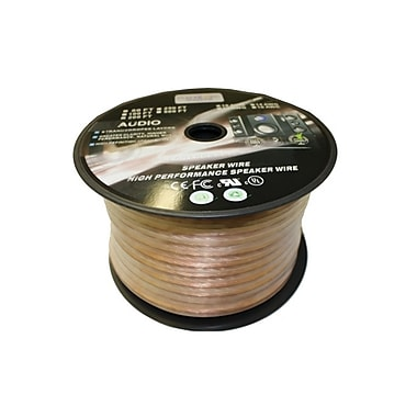 Electronic Master 100' 2 Wire Speaker Cable with 8awg, 4.3