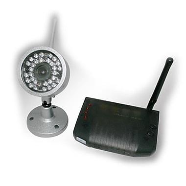 SeqCam – Caméra de sécurité sans fil, 5 po x 6 po x 4 po, argent