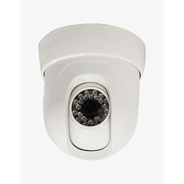 SeqCam – Caméra de sécurité à dôme panaramique/à inclinaison, 7 po x 8 po x 7 po, ivoire