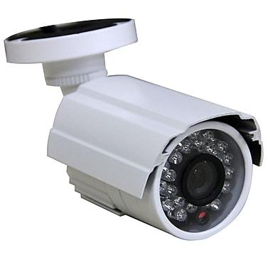 SeqCam – Caméra de sécurité couleur IR étanche SEQ7210, 5 po x 7 po x 4 po, blanc