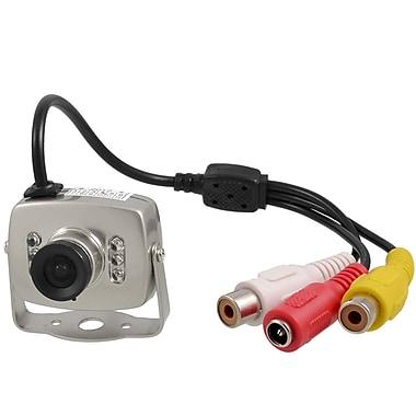 SeqCam – Mini caméra de sécurité couleur, 4 po x 6 po x 3 po, gris