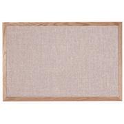 AARCO Designer Fabric Quartz Wall Mounted Bulletin Board; 2' H x 3' L