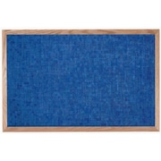 AARCO Designer Fabric Wall Mounted Bulletin Board; 2' H x 3' L